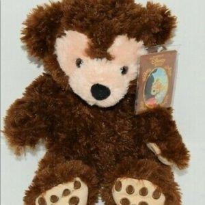 "Hidden Mickey Pre-Duffy Bear 16"" Plush"